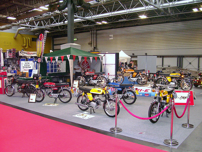 NEC Classic Bike Show 2011   FS1 EOC Stand Photo